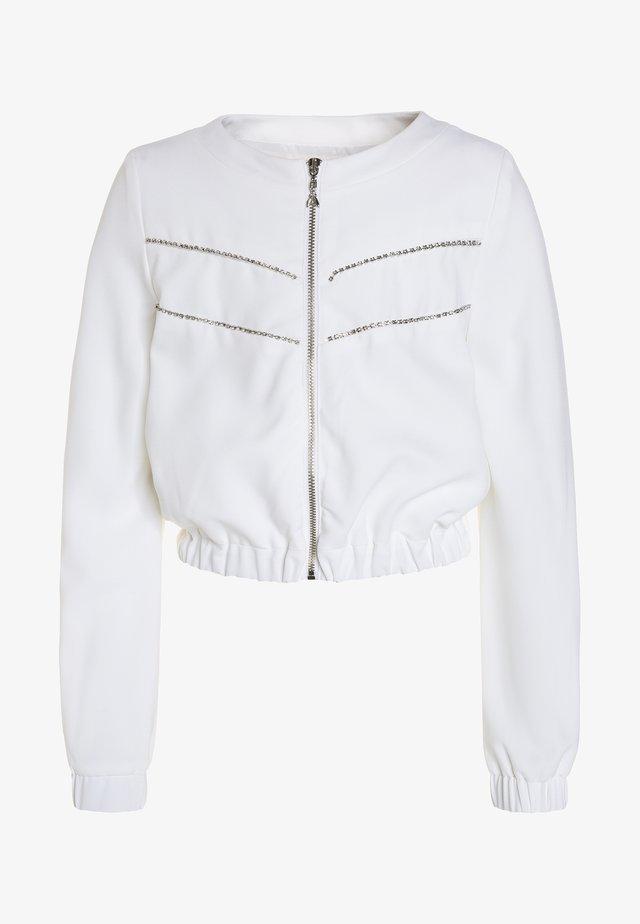 JACKET - Giubbotto Bomber - white