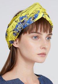 Patrizia Pepe - FASCIA HAIRBAND - Hair styling accessory - yellow flowers - 1