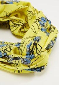 Patrizia Pepe - FASCIA HAIRBAND - Hair styling accessory - yellow flowers - 4