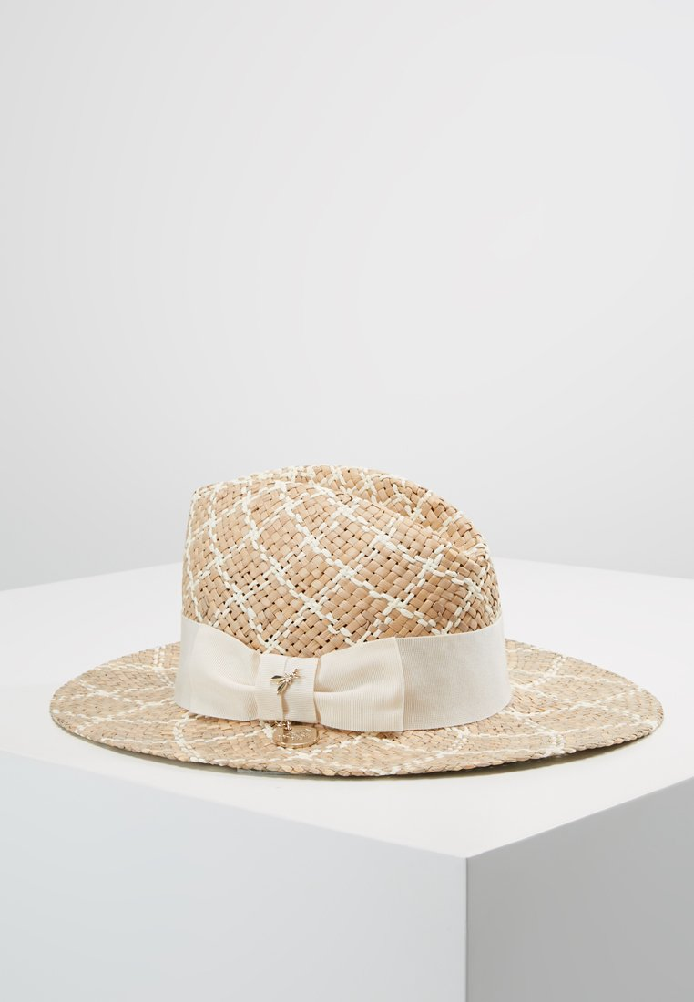 Patrizia Pepe - CAPPELLO HAT - Hatt - natural mutlicolor