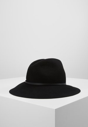 CAPPELLO FEDORA IN FELTRO - Sombrero - nero