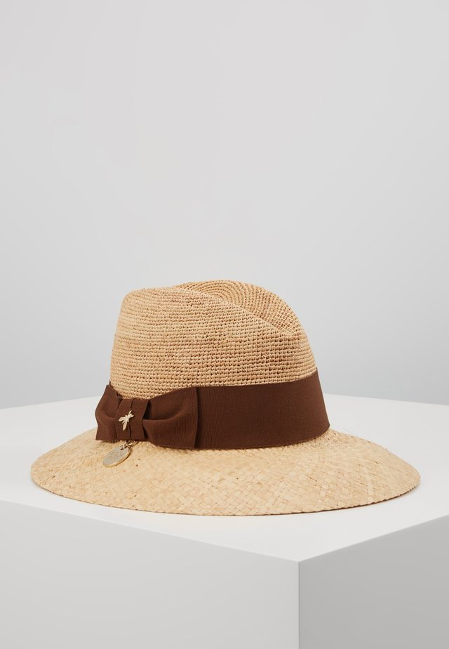 CAPPELLO PANAMA - Chapeau - sand