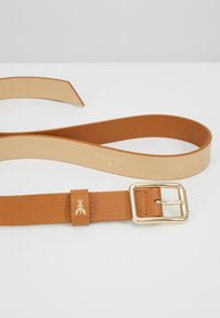 Patrizia Pepe - BASIC BELT - Gürtel - cuoio/gold-coloured - 4