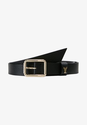 BASIC BELT - Ceinture - nero/gold