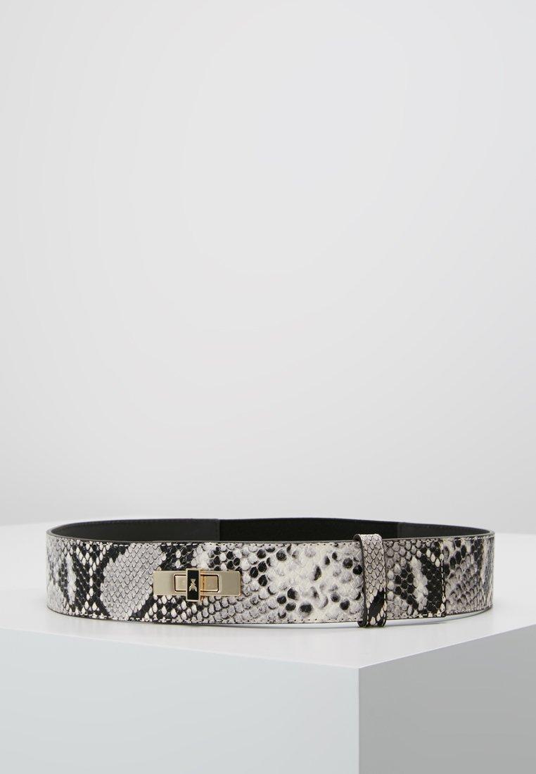 Patrizia Pepe - WAIST BELT - Waist belt - python grey