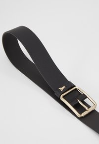 Patrizia Pepe - CINTURA VITA BASSA - Belt - nero/gold-coloured - 3