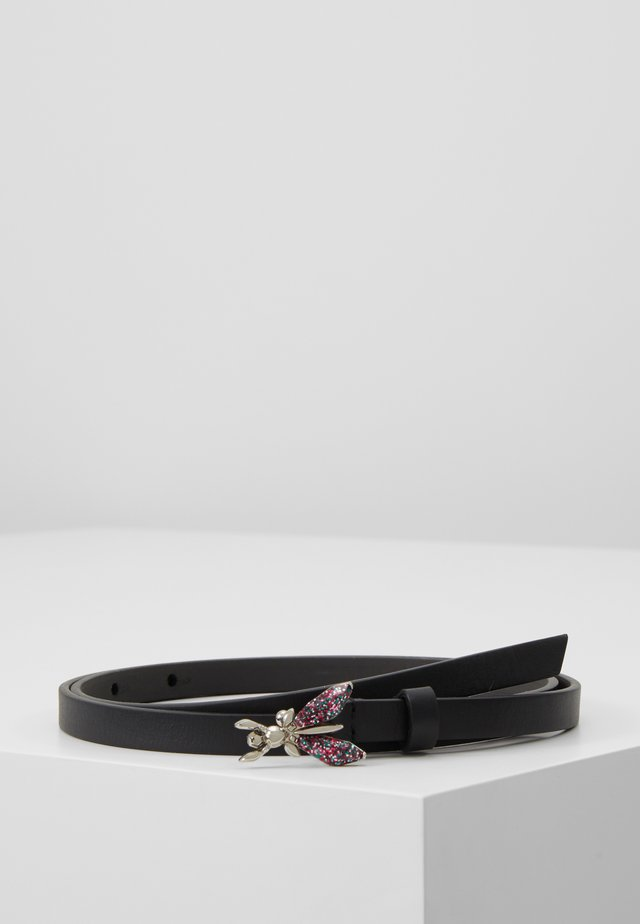 CINTURA PRECIOUS FLY MINI VITA ALTA - Belt - berry/nero