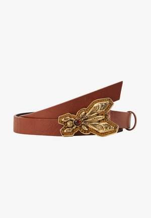 CINTURA VITA BASSA - Belt - canyon brown