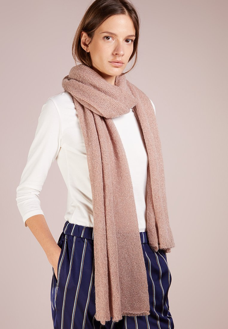 Patrizia Pepe - GLITTER SCARF - Scarf - sparly rose gold
