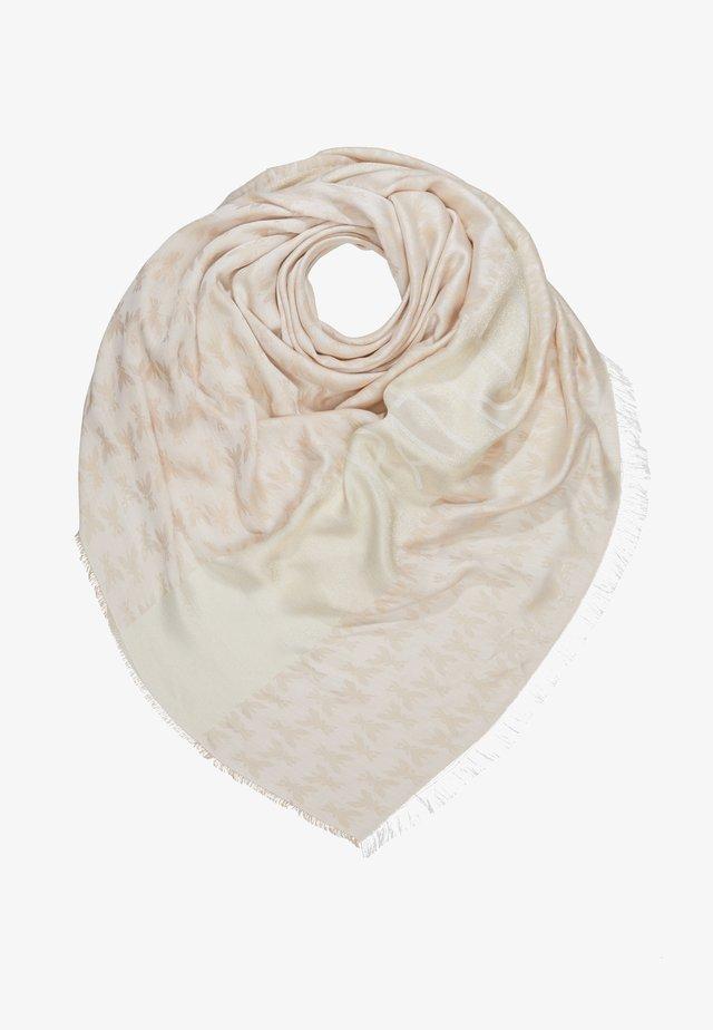 FOULARD - Tørklæde / Halstørklæder - beige/gold