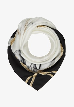 FOULARD SLEEPY FLY - Foulard - black/white