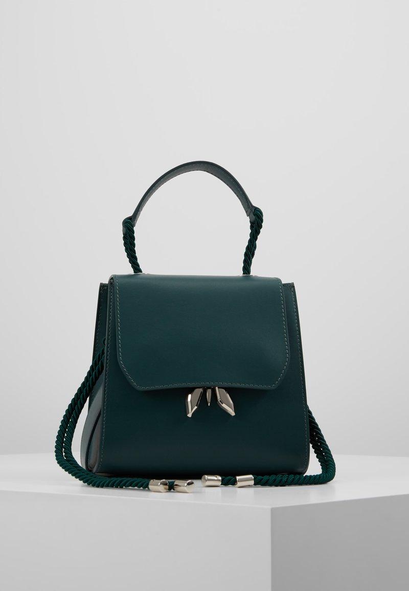 Patrizia Pepe - TREND CROSSBODY ROPE - Handbag - green