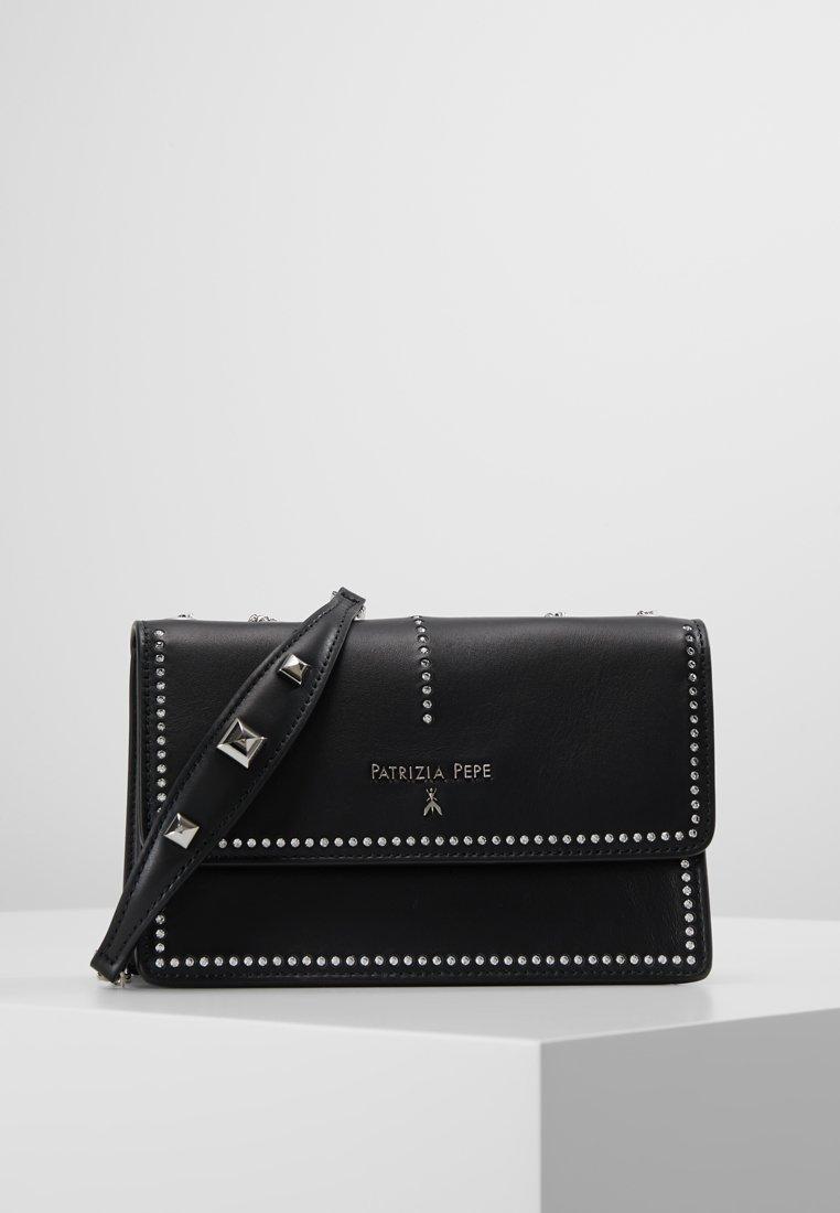 Patrizia Pepe - SHOULDER BAG - Across body bag - black crystal