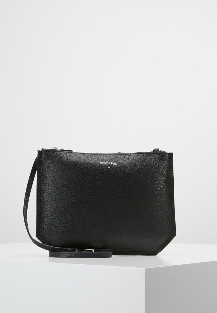 Patrizia Pepe - BORSA BAG - Across body bag - black moon sand