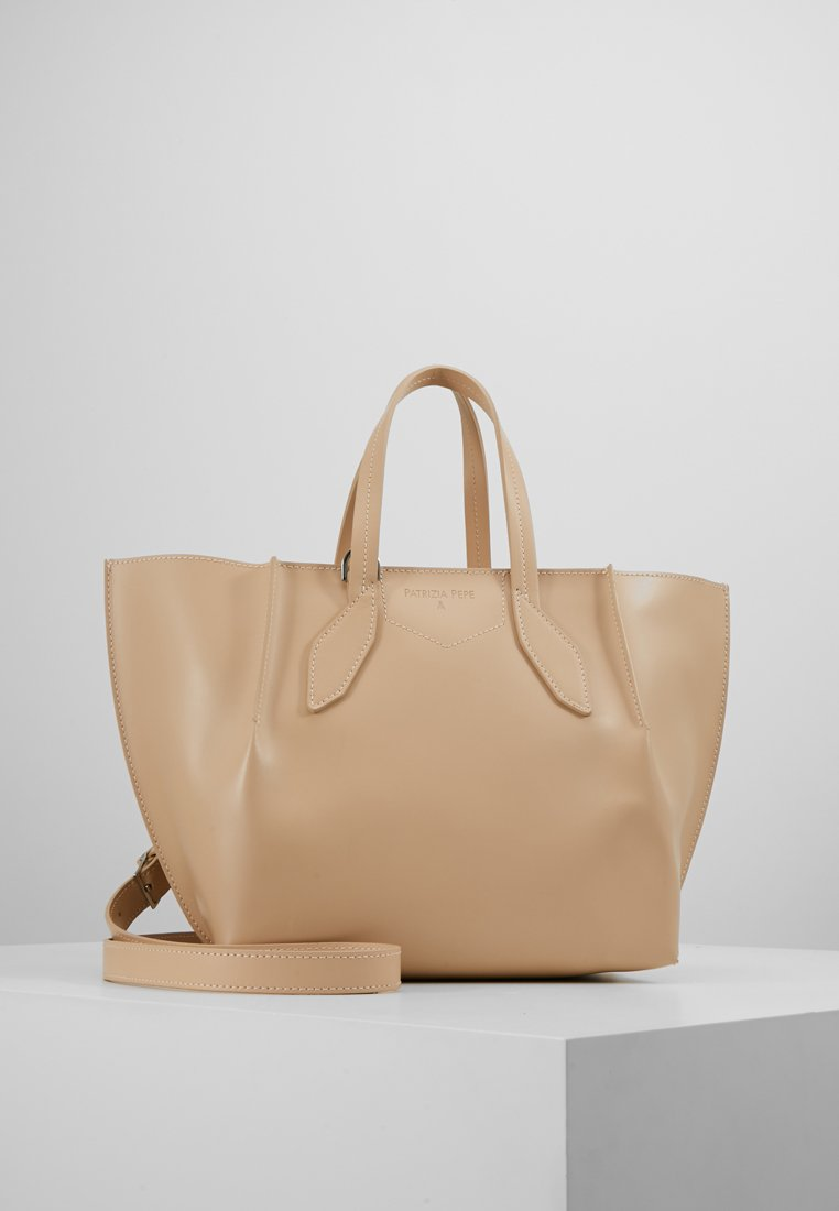 Patrizia Pepe - BORSA BAG - Handbag - camel beige