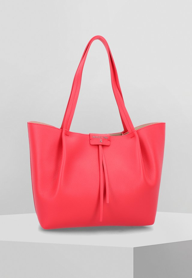 Tote bag - flame red