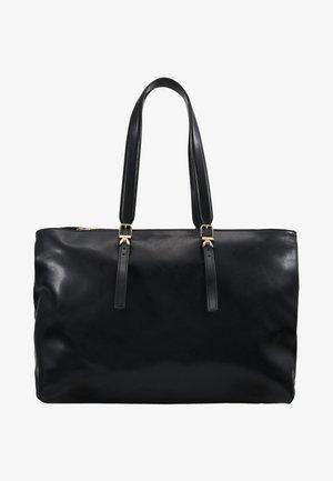 SHOPPING CLACHETTE MEDIA - Shopping Bag - nero
