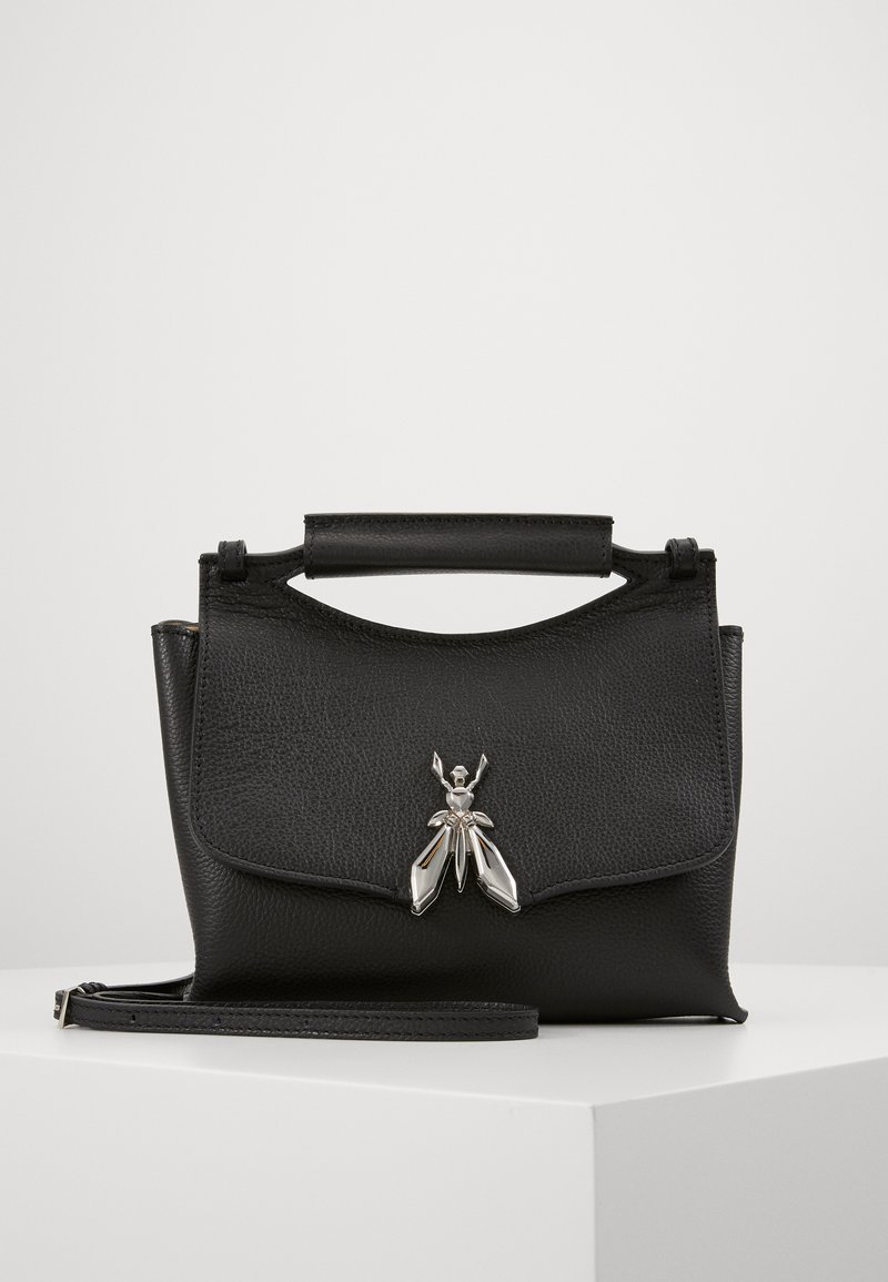Patrizia Pepe - MINI BAG IN PELLE MARTELLATA - Sac à main - nero