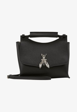 MINI BAG IN PELLE MARTELLATA - Håndveske - nero