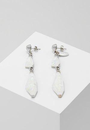 FLY - Earrings - precious white