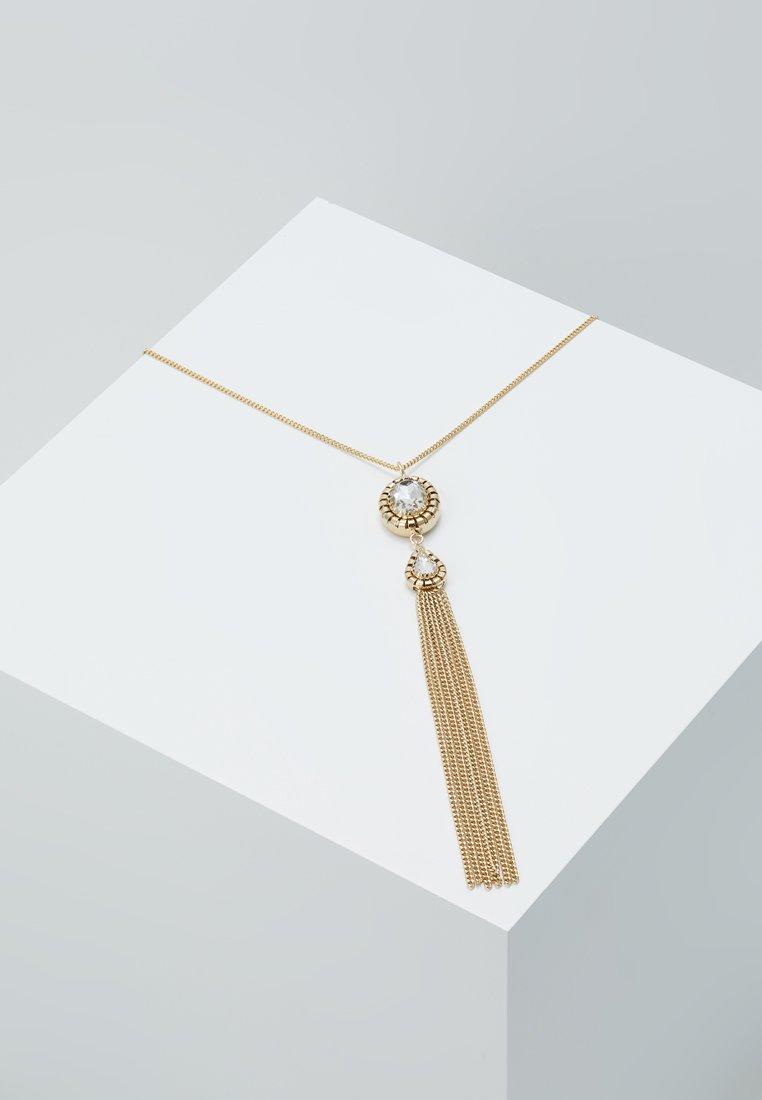 Patrizia Pepe - COLLANA NECKLACE - Collar - gold-coloured/crystal