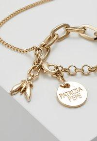Patrizia Pepe - BRACCIALE CON CATENE - Bracelet - gold-coloured - 2
