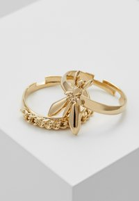Patrizia Pepe - ANELLO DOPPIO - Ring - gold-coloured