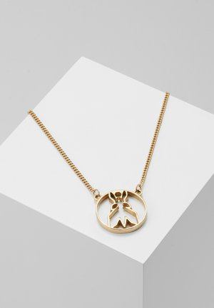 FLY ROUND NECKLACE - Necklace - gold-coloured