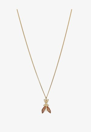 COLLANA PRECIOUS FLY MINI - Necklace - glitter red