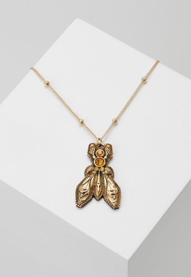 COLLANA CON PIETRE - Halskette - amber