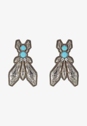 ORECCHINI FLY - Korvakorut - turquoise/silvercoloured