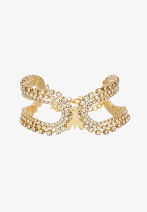BRACCIALE CON PIETRE - Bracelet - gold-coloured/crystal
