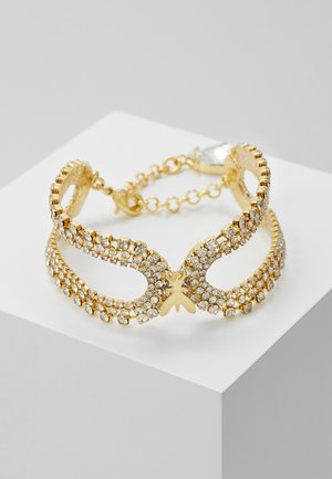 BRACCIALE CON PIETRE - Armband - gold-coloured/crystal