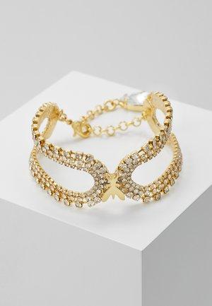 BRACCIALE CON PIETRE - Bracelet - gold-coloured/crystal
