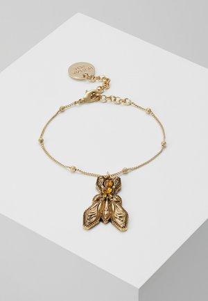 BRACCIALE CON PIETRE - Armband - amber