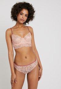 Princesse tam.tam - EPICE - String - rose gazelle/beige dune - 1