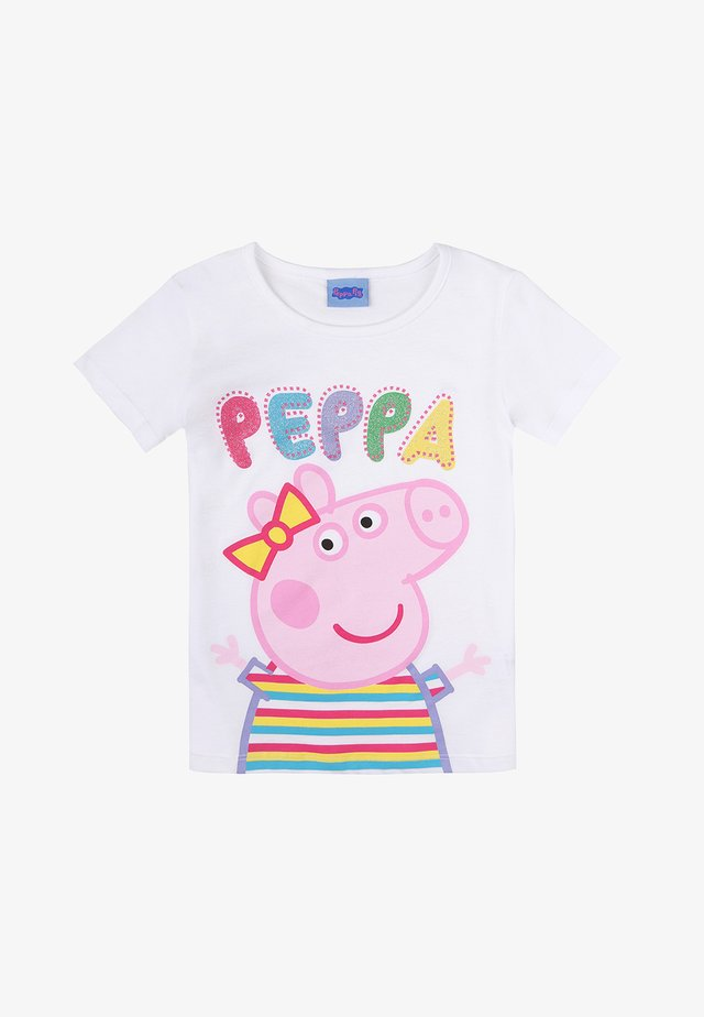 PEPPA PIG - Print T-shirt - white