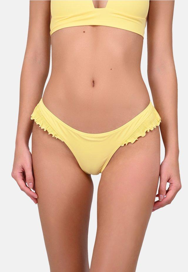 ALALA - Bikinibroekje - yellow