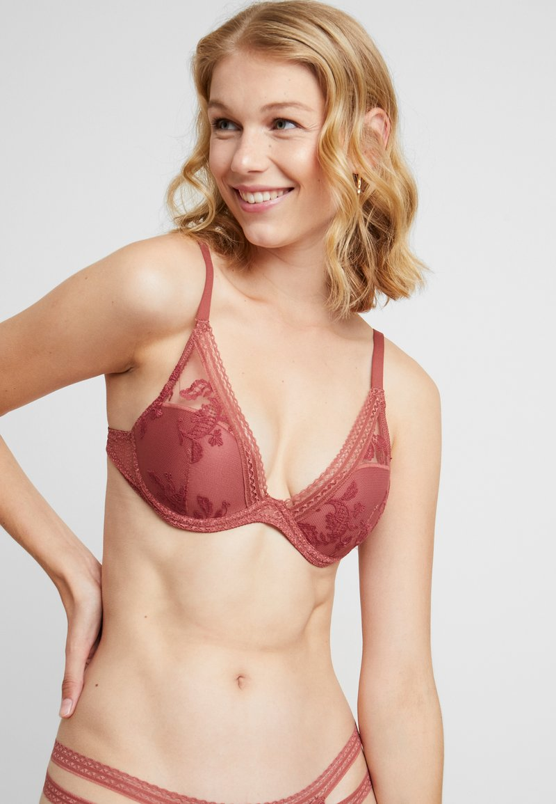 Passionata - FALL IN LOVE - Triangle bra - ambre