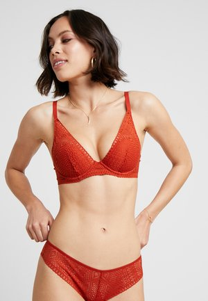 HOLALA  - Triangle bra - brique