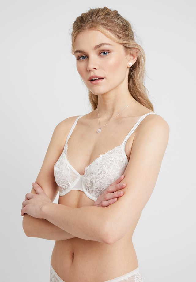 CAMDEN - Underwired bra - milk