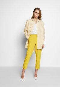Part Two - Trousers - ceylon yellow - 1