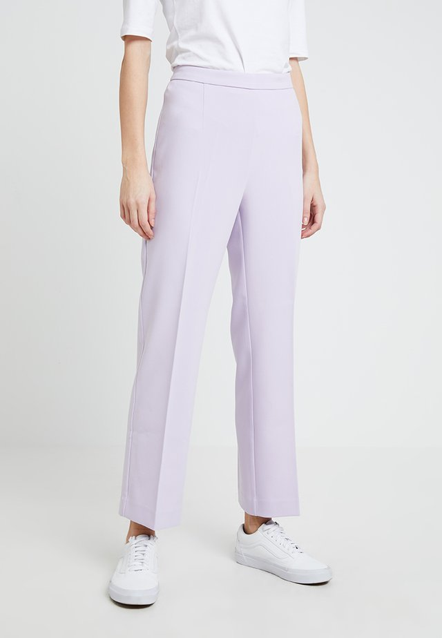 PETRO - Trousers - pastel lilac