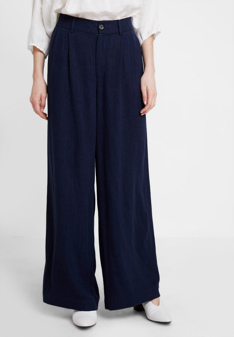 Part Two - REANNA - Trousers - navy blazer