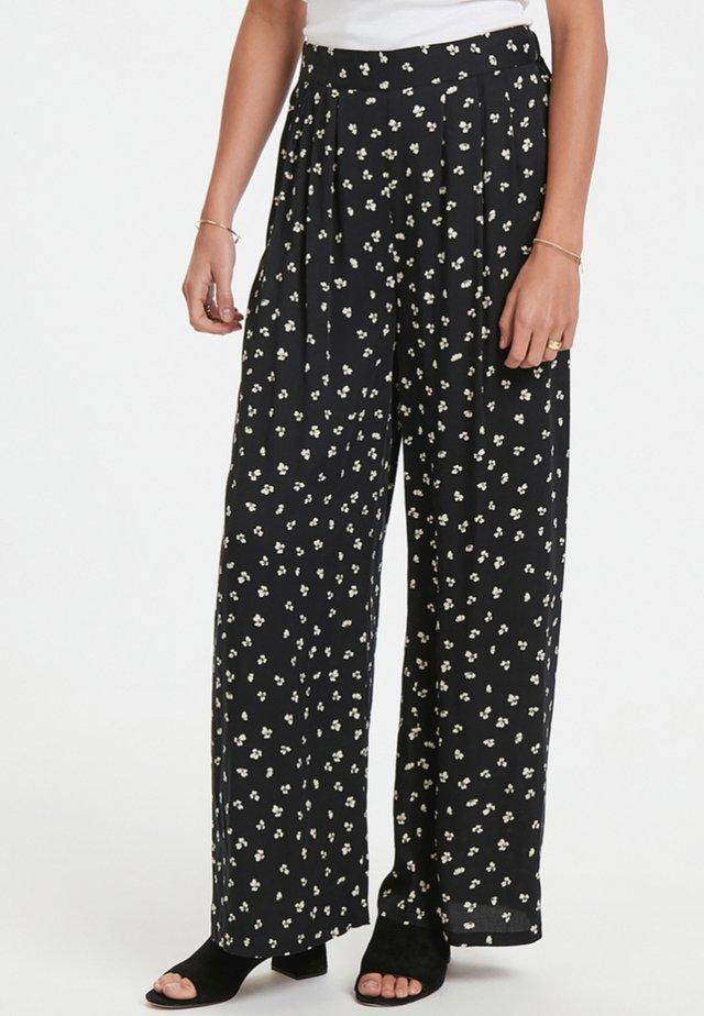 LABANA - Pantalon classique -  black