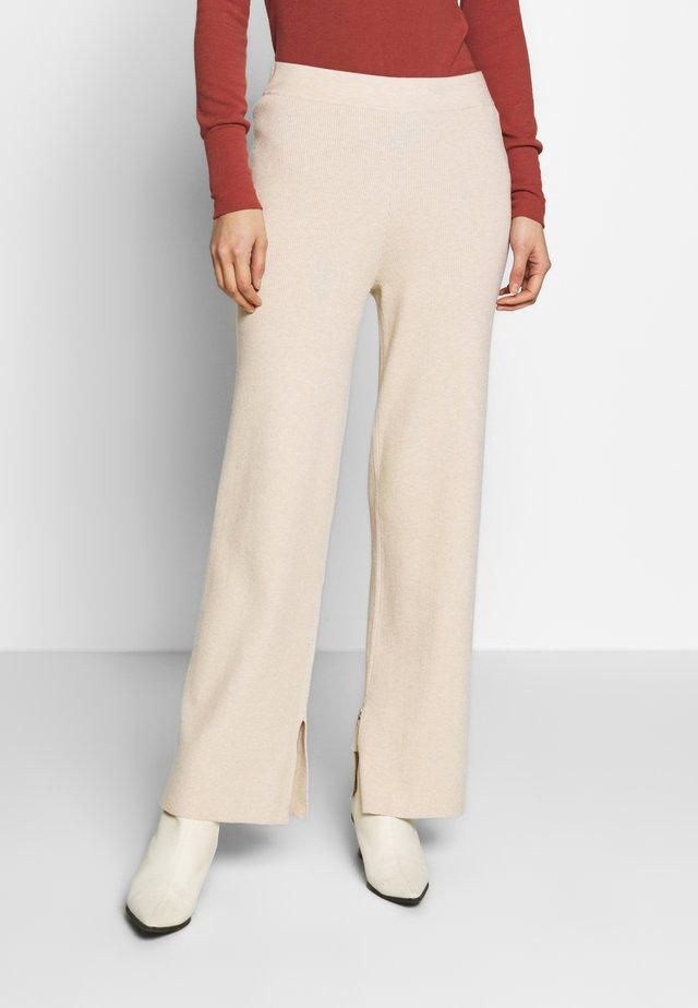 VERDI - Pantalon classique - beige melange