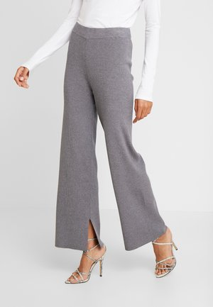 VERDI - Pantalon classique - medium grey melange