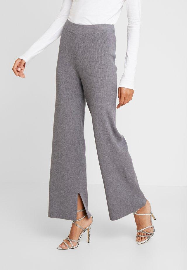 VERDI - Pantaloni - medium grey melange