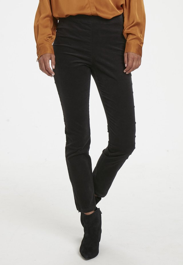 JANRIETTA  - Leggings - Trousers - black