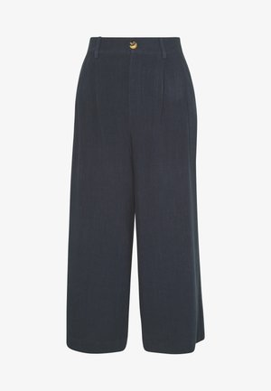REANNA - Trousers - blue graphite